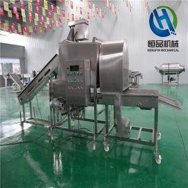 牡蛎裹粉机 海产品牡蛎裹粉机 扇贝上粉机器