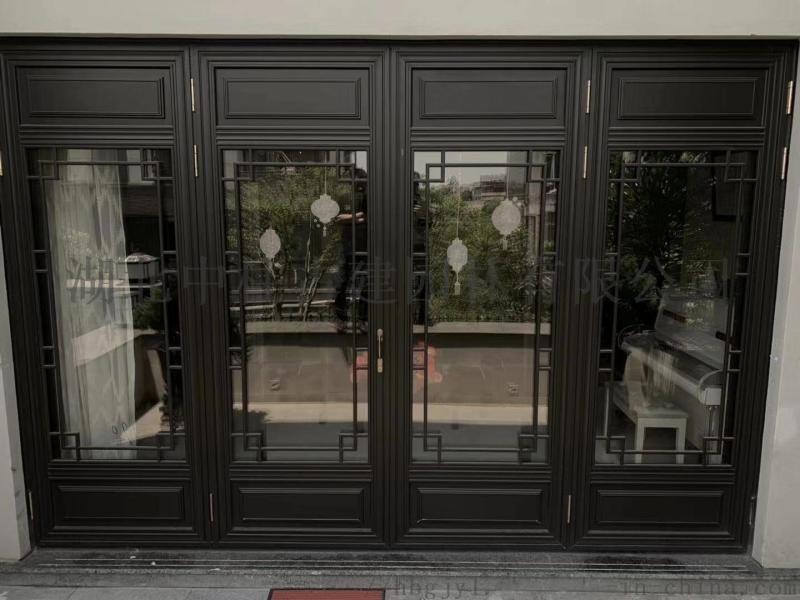 铝合金仿古窗、中式古建铝门窗、别墅仿古铝门窗