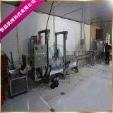 山東雞米花裹粉機生產廠家 鹽酥雞上粉油炸設備機