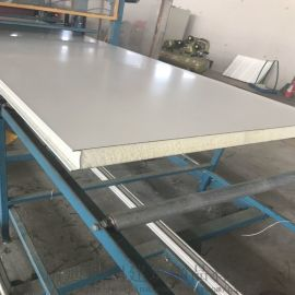 海安彩钢板 C型钢 岩棉夹芯板厂家