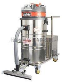 上海供应手推扒头式不锈钢型充电式威德尔电瓶吸尘器WD-80P