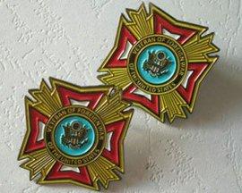贵阳专业金属徽章订做,遵义企业logo纪念胸章制作