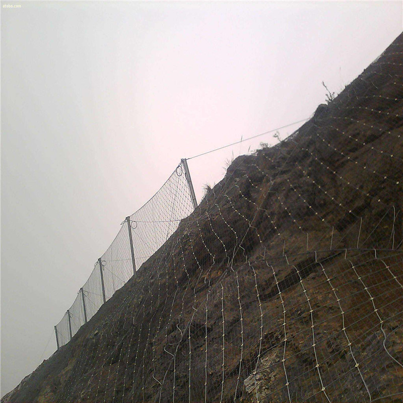sns柔性防护网 被动防护网 sns被动边坡防护网