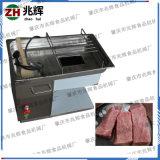 廠家直銷 臺式電動切肉機 廚房專用鮮肉切絲切片機