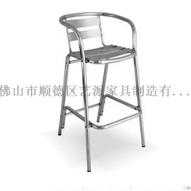 **休闲全铝吧椅YC018