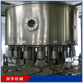 全自动三合一纯净水矿泉水果汁灌装机