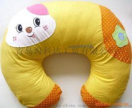 厂家加工定制纯棉多功能哺乳枕记忆棉可拆洗护腰喂奶垫