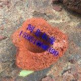 厂家供应红火山石 栽培基质用火山岩颗粒