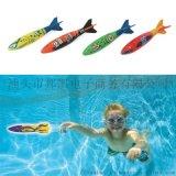 親子互動戲水玩具運動潛水投擲魚