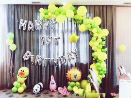 昆明,生日宴氣球、百日宴氣球、壽宴氣球、派對氣球