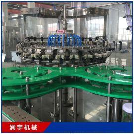全自动果汁饮料灌装机 植物蛋白饮料灌装设备