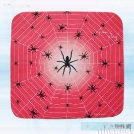 红底蜘蛛网滑鼠垫(AW-018)