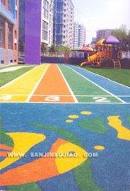 幼儿园橡胶地垫(透气型)