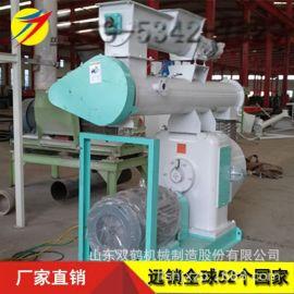 中型玉米豆腐猫砂颗粒机 环模挤压造粒机 350型环模饲料机设备
