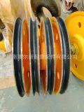 50t轧制滑轮组滑轮片 重级吊钩滑轮组 钢滑轮组