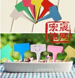 园艺花卉牌、花卉园艺标签、园艺标签(六色)