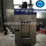 羊肉烘烤機器 家禽薰色設備 蒸汽加熱煙燻爐圖片資訊