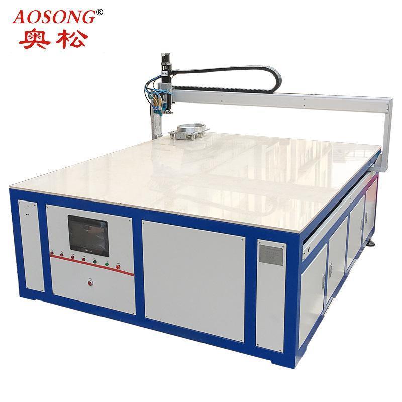 供应板金密条封发泡 空调密封条发泡机 海棉体双液灌注发泡机