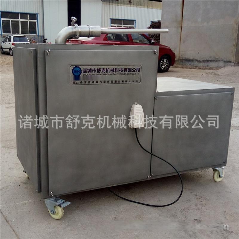 紅腸灌腸機液壓可調速型灌裝肉糜機器 全套紅腸加工設備諸城舒克