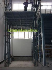 专业生产销售固定导轨式升降平台,液压升降平机,电动升降货梯
