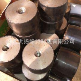 金属橡胶弹簧减震器 包铁橡胶件 带螺丝橡胶减震器
