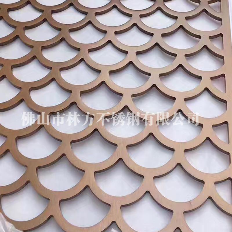 深圳會所不鏽鋼屏風 中式復古雕花屏風 隔斷定製廠家