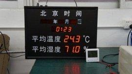LED温湿度显示屏