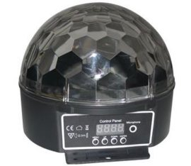 粤炫LED水晶魔球(六环图案)
