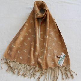 蚕丝绒围巾