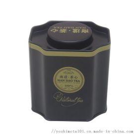八边形茶叶铁盒|异形马口铁茶叶罐
