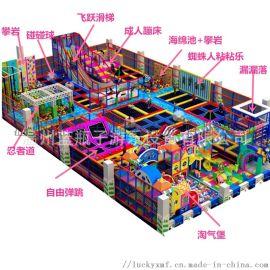 室内超级跳床儿童蹦蹦床厂家,成**型蹦床公园