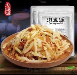 开袋即食香辣笋丝笋条下饭菜金菇脆笋