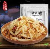 開袋即食香辣筍絲筍條下飯菜金菇脆筍