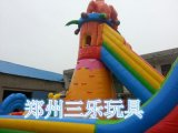 熊出没大猩猩攀岩充气大滑梯 浙江宁波户外大型充气玩具包