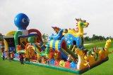 安徽大型充氣蹦蹦牀價格  安慶章魚鬧龍宮大型充氣城堡設計精美
