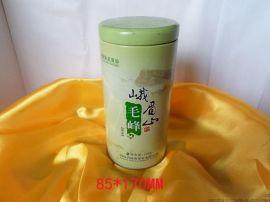黄山毛峰包装圆罐 铁质铁盒 铁罐 茶叶罐 东莞厂家 