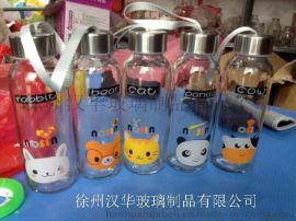 280ml热销手提玻璃杯,厂家直销玻璃水杯,**水杯生产商