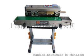 上海阿凡佬牌SF-150LD 不锈钢落地式薄膜钢印封口机