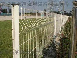 河南新乡市政护栏网_桃型柱护栏网