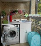 广州哪里可以做阳台柜洗衣机柜子