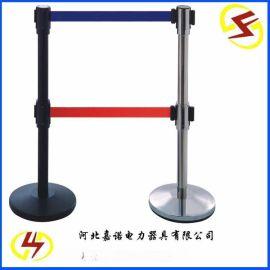 厂家直销不锈钢带式伸缩围栏 伸缩防护栏 5米双带式伸缩围栏 围栏