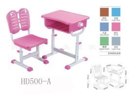 佛山塑鋼家具工廠價定做批發學校課桌椅
