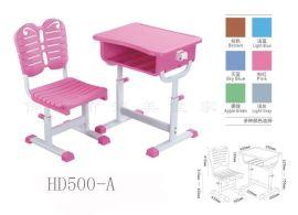 佛山塑钢家具工厂价定做批发学校课桌椅