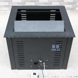 晶固投影机升降器会议桌盒式升降机电动遥控吊架