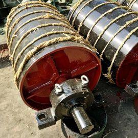 厂家直销昌鑫无动力喷漆碳钢传动滚筒