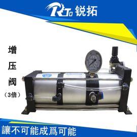 锐拓RTO 气体增压阀 空气增压泵 热流道泵 生产厂家 东莞 促销 3倍增压小流量