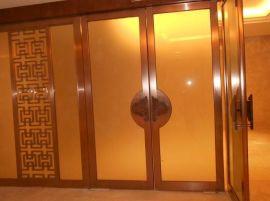 酒店玻璃门包边不锈钢材料,KTV不锈钢包厢装饰不锈钢,KTV吧台装饰不锈钢