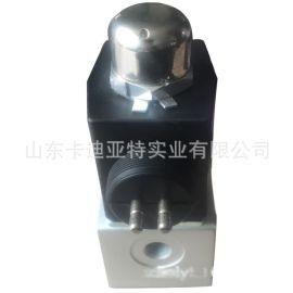 中国重汽配件 HOWO 轻卡 二位三通双插电磁阀 SCR 图片 价格