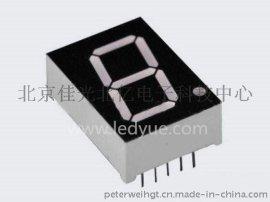 0.8英寸单一1位led数码管共阴共阳黄光橙色   8011AH/BHRSG仪器仪表机械设备面板显示厂家