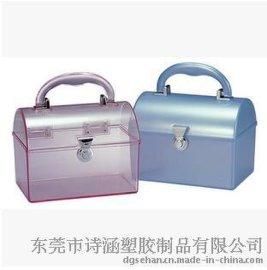 【厂家供应】手提塑料盒 手提收纳盒 塑料收纳盒148*115*98MM